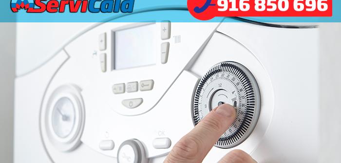 como ajustar el termostato de la caldera de gas