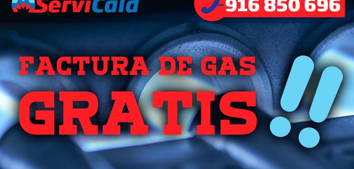 Factura de gas gratis en enero de 2015