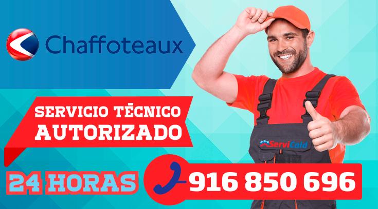 Servicio tecnico Chaffoteaux en Getafe