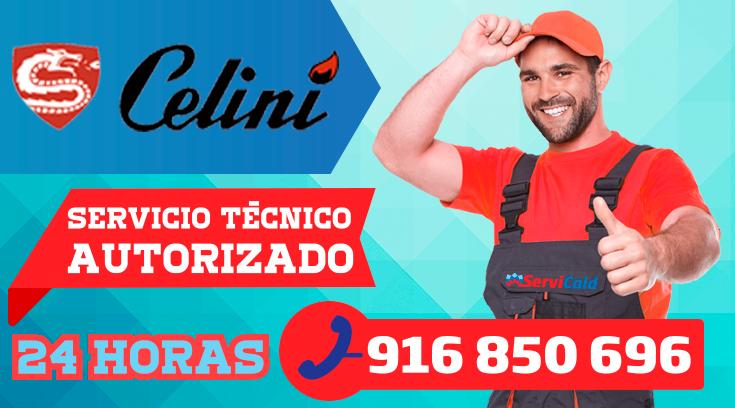 Servicio tecnico Celini en Getafe