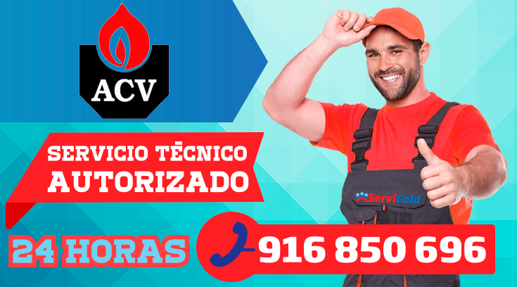 Servicio tecnico de calderas ACV en Getafe
