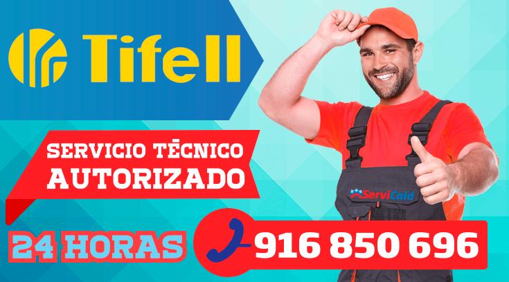 Servicio tecnico Tifell en Getafe