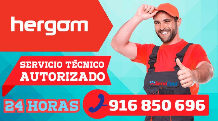 Servicio tecnico Hergom en Getafe.