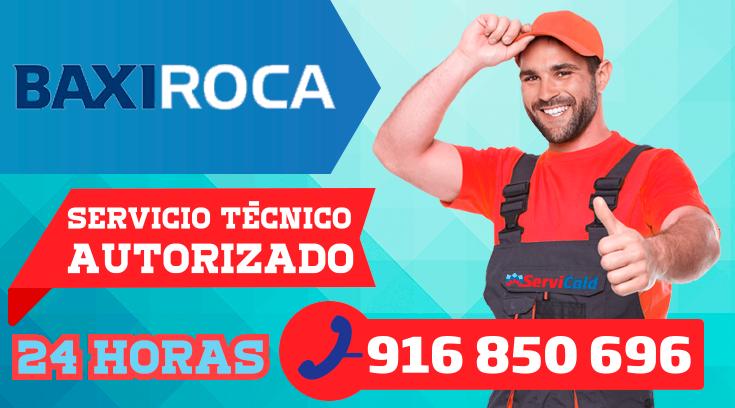 Servicio tecnico BaxiRoca en Getafe