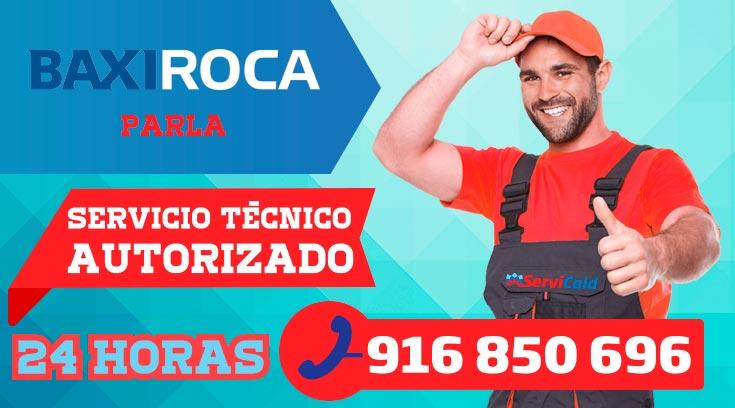 Servicio tecnico BaxiRoca en Parla