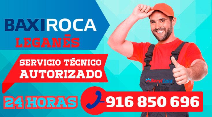 Servicio tecnico Calderas BaxiRoca Leganes