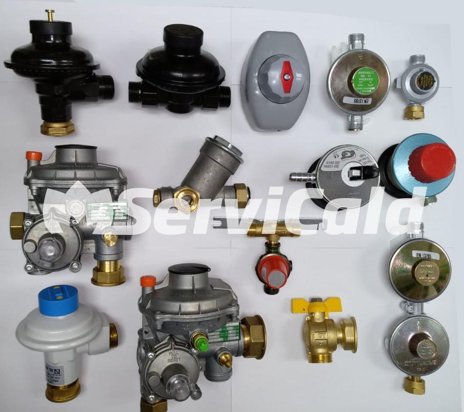 Sustitución de reguladores de gas natural en Getafe