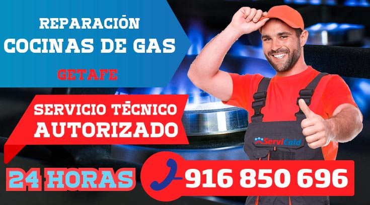 Reparación de cocinas de gas en Getafe