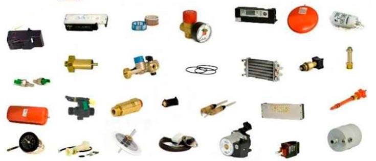 Venta de piezas de recambio y suministros para todas las marcas y modelos de calderas de gas, gasoil y eléctricas