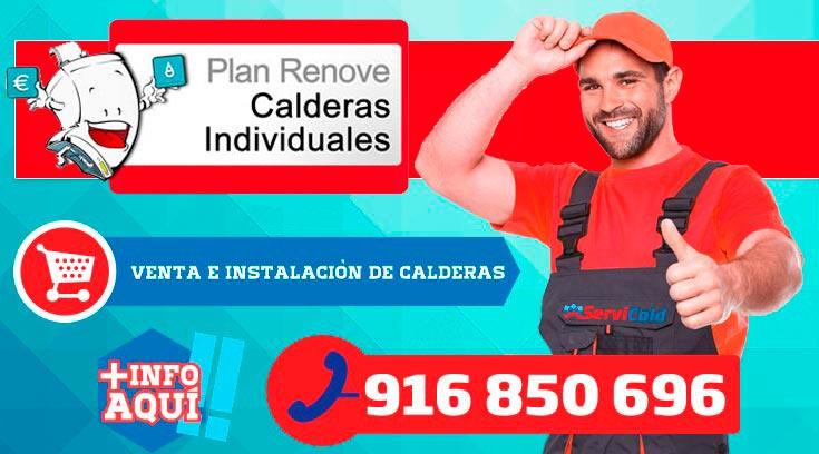 Plan renove de Calderas en Getafe