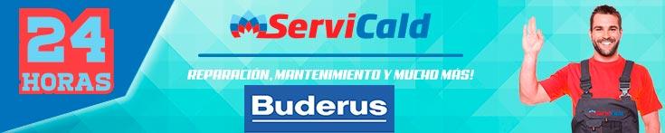 Reparación de calderas Buderus en Getafe