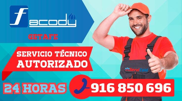 Servicio Técnico Calderas Facody en Getafe