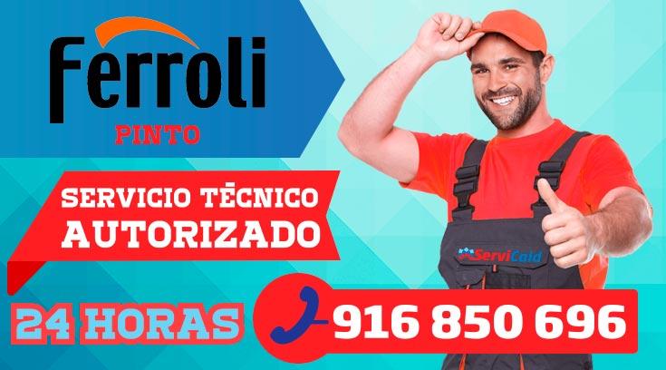 Servicio Técnico Calderas Ferroli en Pinto