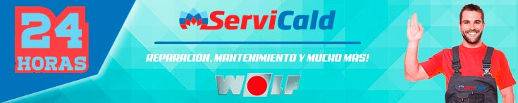Reparación de calderas Wolf en Getafe