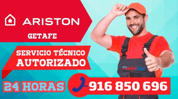 Servicio técnico calderas Ariston en Getafe