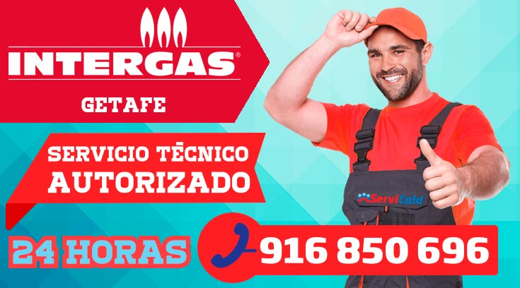 Servicio técnico calderas Intergas en Getafe